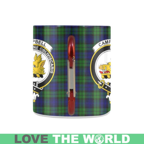 Image of Tartan Mug - Clan Campbell Tartan Insulated Mug A9 | Love The World