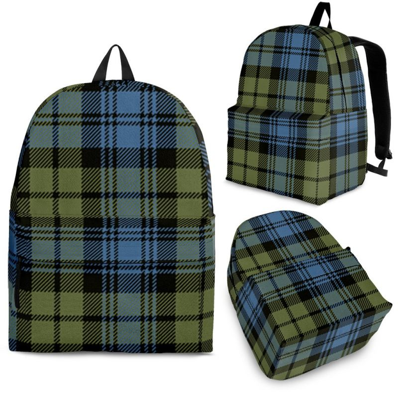 Campbell Faded Tartan Backpack Backpacks