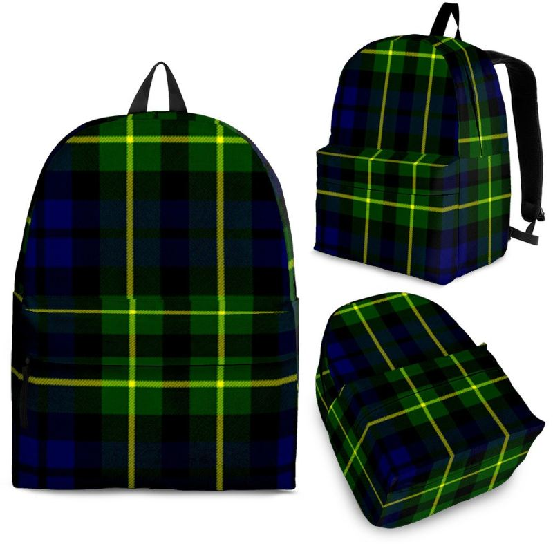 Campbell Of Breadalbane Modern Tartan Backpack Backpacks