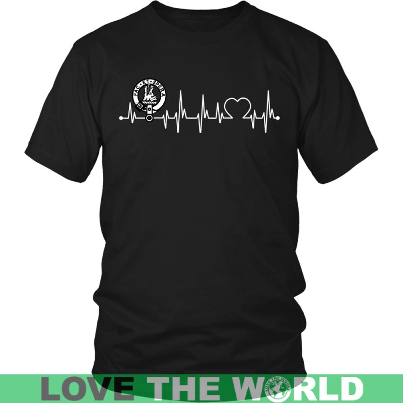 Campbell Of Possil In My Heartbeat N9 Gildan Womens T-Shirt / Black S T-Shirts