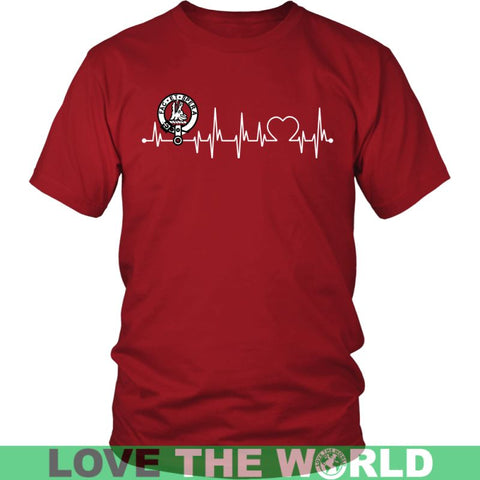 Image of Campbell Of Possil In My Heartbeat N9 Gildan Womens T-Shirt / Black S T-Shirts
