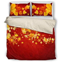 Canada Bedding Set 003 Maple leaves Bedding Set