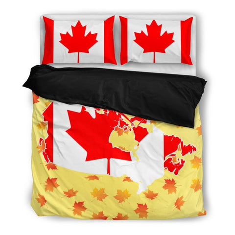 Image of Canada Bedding Sets Nh2 Bedding Set - Black / Twin