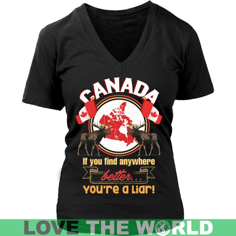 Canada Best Place To Live P1 T-Shirts District Unisex Shirt / Red S