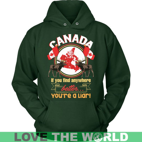 Image of Canada Best Place To Live P1 T-Shirts District Unisex Shirt / Red S