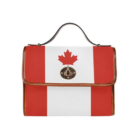 Canada Flag Waterproof Canvas Bag F1 Bags