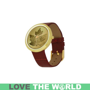 CANADA GOOSE IN MAPLE LEAF GOLDEN LUXURY WATCH A3
