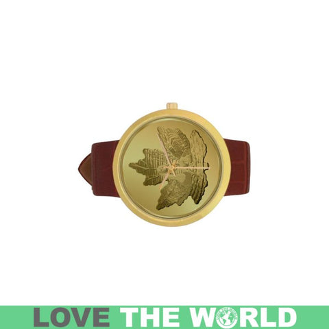 Canada Goose In Maple Leaf Golden Luxury Watch Y3 Watches