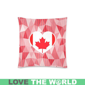CANADA IN MY HEART ZIPPERED PILLOW A0
