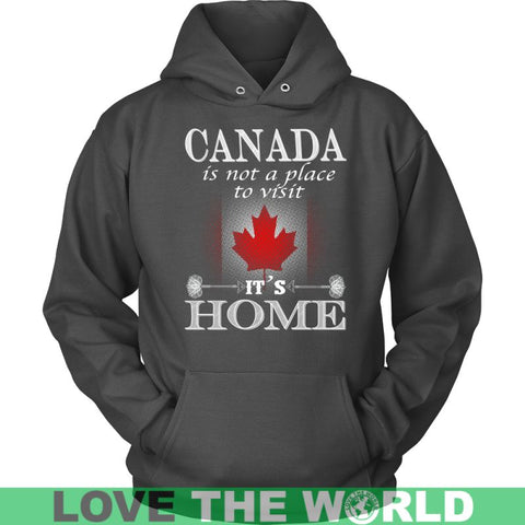 Image of Canada Is My Home T-Shirt J1 District Unisex Shirt / Royal Blue S T-Shirts