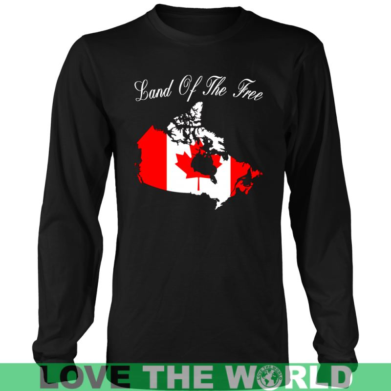 Canada - Land Of The Free A9 District Unisex Shirt / Royal Blue S T-Shirts
