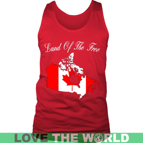 Image of Canada - Land Of The Free A9 District Unisex Shirt / Royal Blue S T-Shirts