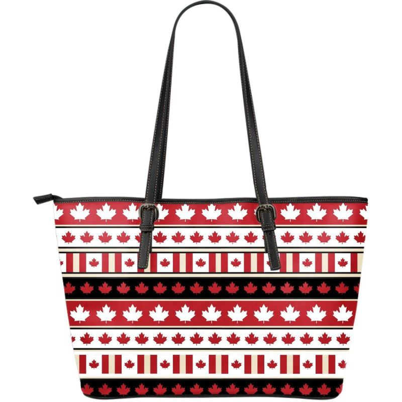 Canada Large Leather Tote Bag 002 Totes