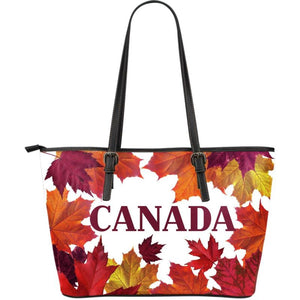Canada Large Leather Tote Bag 01 Totes
