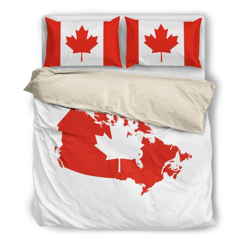 Canada Love - Bedding Set A9 Bedding Set Beige / Twin Sets