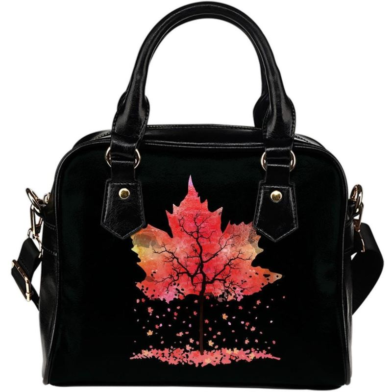 Canada Maple Leafs Shoulder Handbag D7 Handbags
