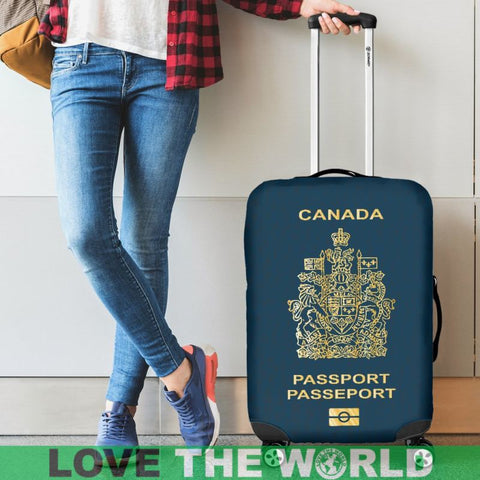 Canada Passport Luggage Cover - Bn Covers