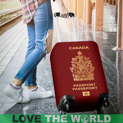Canada Passport Red Luggage Cover - Bn Covers