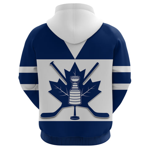 Canada Hockey Maple Leaf Champion Zip Up Hoodie back | Clothing | Toronto Maple Leafs