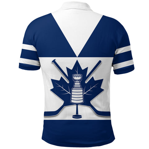 Canada Hockey Maple Leaf Champion Polo Shirt | Clothing | Toronto Maple Leafs back