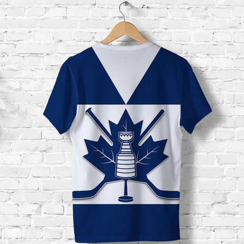 Canada Hockey Maple Leaf Champion T Shirt back | Clothing | Toronto Maple Leafs