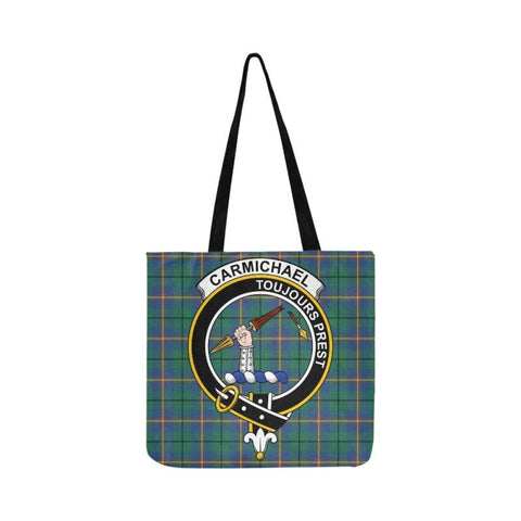 Carmichael Ancient Clan Badge Tartan Reusable Shopping Bag - Hb1 Bags