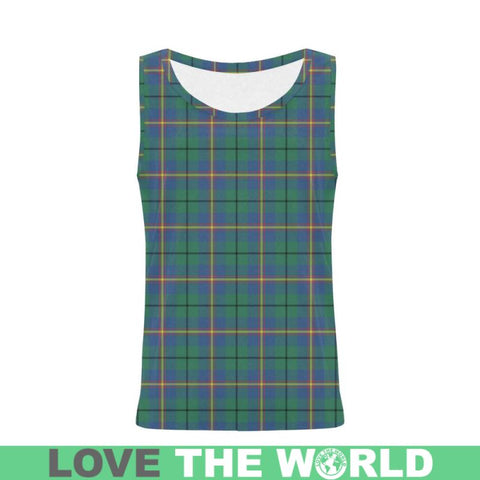 Image of Carmichael Ancient Tartan All Over Print Tank Top Nl25 S / Women Tops