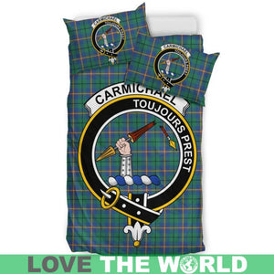 Carmichael Ancient Clan Badge Tartan Bedding Set K5