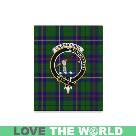 Tartan Canvas Print - Carmichael Clan | Over 300 Scottish Clans and 500 Tartans