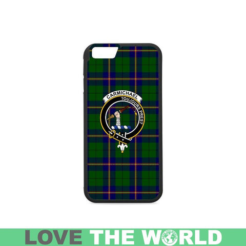 Image of Carmichael Tartan Clan Badge Rubber Phone Case Hj4 One Size / Rubber Case For Iphone 7 (4.7 Inch)