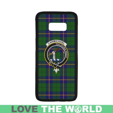 Carmichael Tartan Clan Badge Rubber Phone Case Hj4 One Size / Rubber Case For Iphone 7 (4.7 Inch)
