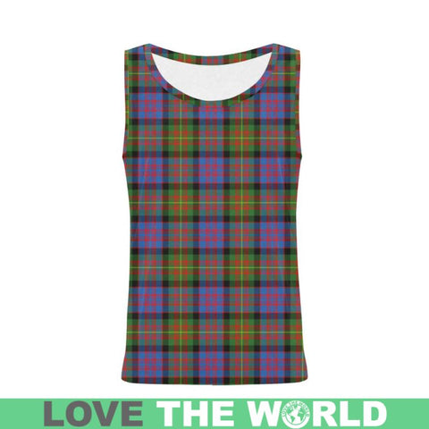 Carnegie Ancient Tartan All Over Print Tank Top Nl25 Xs / Men Tops
