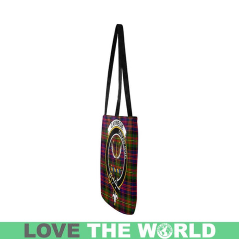 Image of Carnegie Modern Clan Badge Tartan Reusable Shopping Bag - Hb1 Bags