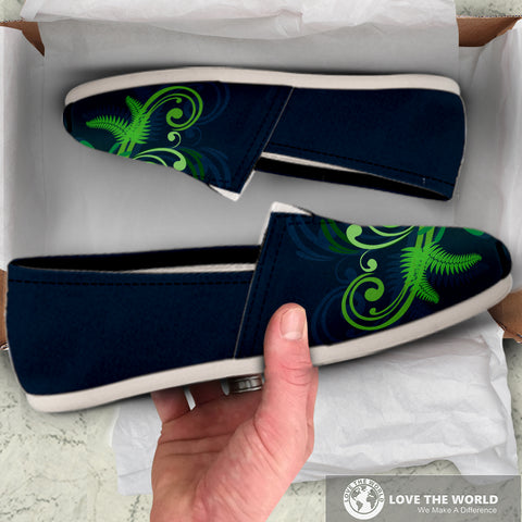 Image of Special Edition of New Zealand Fern - Fern Women's Casual Shoes