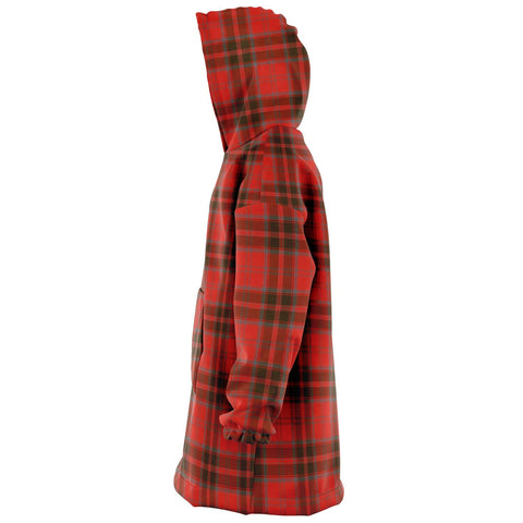 Grant Weathered Snug Hoodie - Unisex Tartan Plaid Left