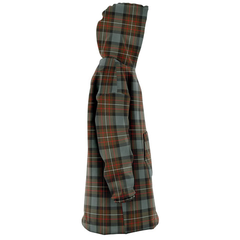 Fergusson Weathered Snug Hoodie - Unisex Tartan Plaid Right