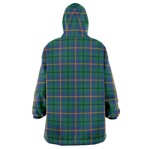 Carmichael Ancient Snug Hoodie - Unisex Tartan Plaid Back