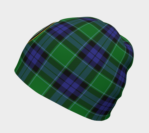 Image of Graham of Menteith Modern Tartan Clan Crest Beanie Hj4