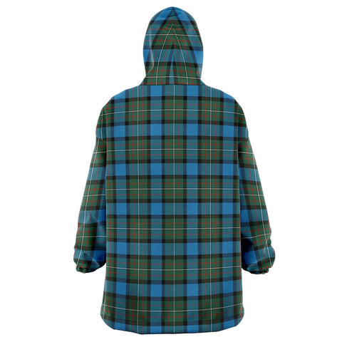Fergusson Ancient Snug Hoodie - Unisex Tartan Plaid Back