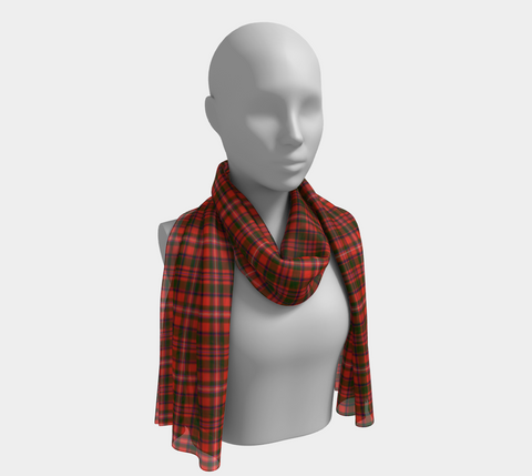 Image of Tartan Long Scarf - Mackinnon Modern - BN