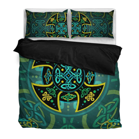 Celtic Duvet Cover- Celtic Knot Bedding Set NN8