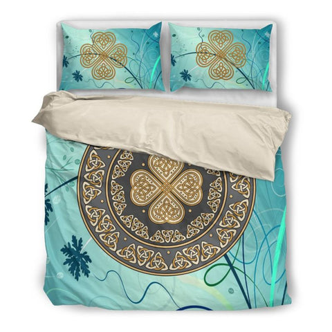Image of Celtic Bedding Set Q1 Bedding Set - Beige / Twin Sets