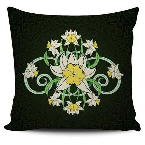 Celtic Daffodil Pillow Cover X1 Pillows