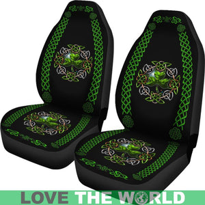 Celtic Shamrock Car Seat Covers O4