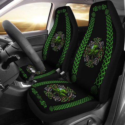 Celtic Shamrock Car Seat Covers 01 O4 Car Seat Covers - Covers01 / Universal Fit