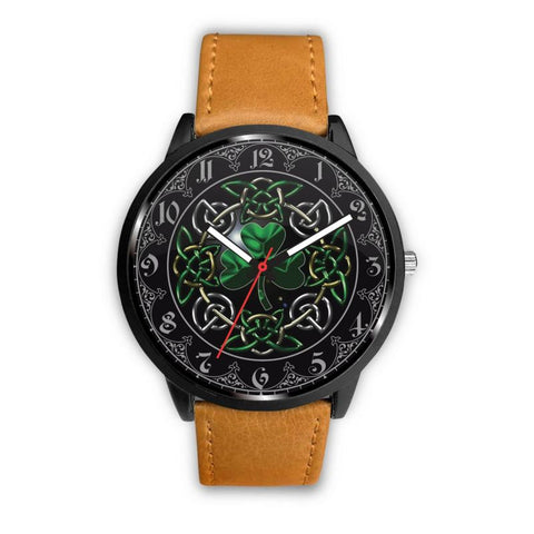 Celtic, Shamrock, Ireland, Irish, Watch, Watches, Woman, Women, Accessory, Accessories, Leather Straps, Steel Bands