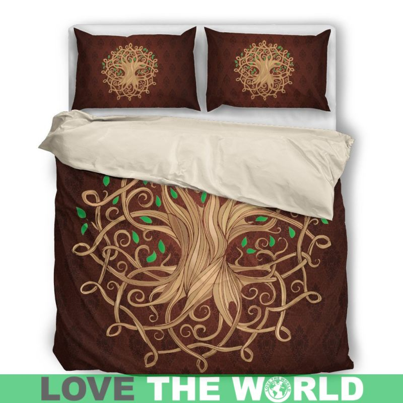 Very Luxurious Celtic Tree Bedding Set - Love The World – 1stTheWorld NN06