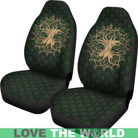 Celtic Tree Car Seat Covers X1