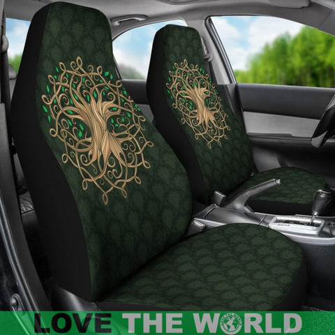Image of Celtic Tree Car Seat Covers X1