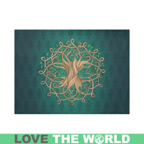 Celtic Tree Placemat 14 Inch X 19 (Six Pieces) X1 Placemats